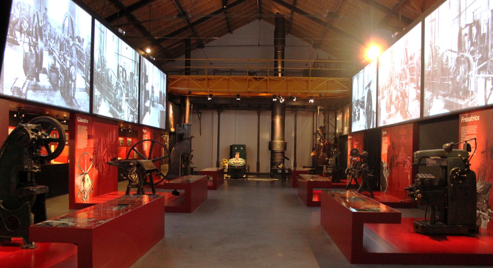Miti museo dell 39 innovazione e della tecnica industriale for Aprire concept house